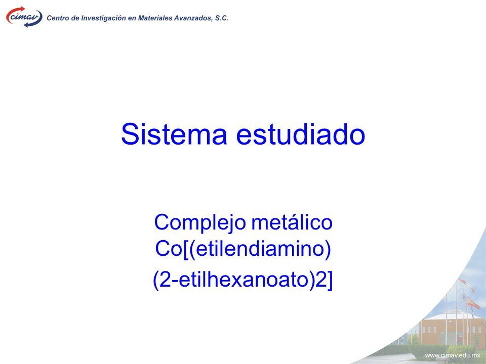 Complejo metálico Co[(etilendiamino) (2-etilhexanoato)2]